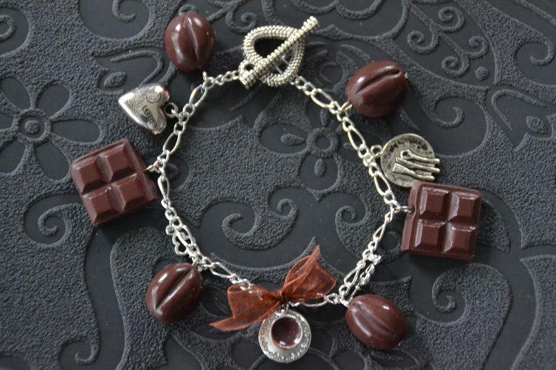 Chocolat et grain de café