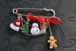 Bonhomme de neige et bonnet de Noël