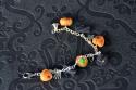 Citrouilles, cœurs et chapeau de sorcière