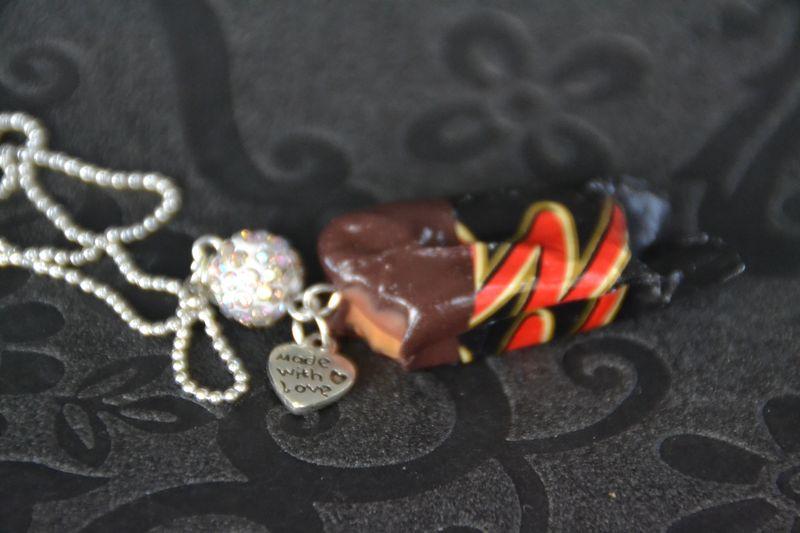 Barre chocolat caramel
